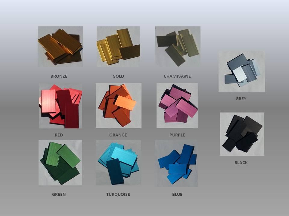 kleuren anodiseren